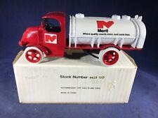D3-75 ERTL DIE CAST BANK - 1926 MACK BULL DOG TRUCK - MERIT