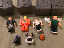 Roblox Blind Box Action Figure Assortment 4 Posable Figures EUC With Boxes