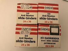 Gepe Anti Newton Slide Binders 24 x 36 Lot of 4 boxes 20 per box