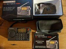 New listing Crane Cc Skywave Ssb Am, Fm, Shortwave Portable Radio