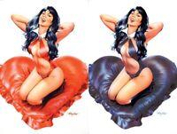 DYNAMITE Comics VAMPIRELLA VALENTINE'S DAY SPECIAL 1 Mayhew NM 2 Book Virgin Set