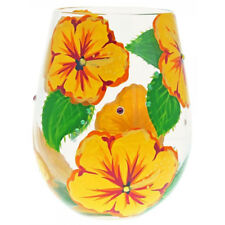 Lolita Hibiscus 591ml Stemless Wine Glass