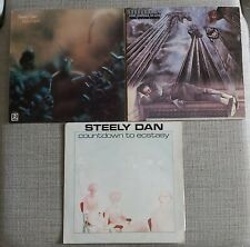 COLLECTION OF 3 x STEELY DAN LP's - ROYAL SCAM,KATY LIED & COUNTDOWN - VG+