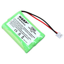 2-Pack Hqrp Phone Battery for Ge 21900 21905 21920 25802 / Model 28108 Dect 6.0