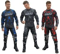 Wulfsport Wulf Max Equipe V20 MX Motocross Enduro Quad Jersey & Pants Combo Set