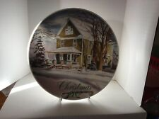 "Smucker's Collector's Plate "" Christmas 1982 "" By David Coolidge"