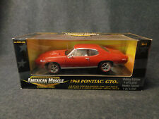 1968 PONTIAC GTO - AMERICAN MUSCLE ERTL COLLECTIBLES DIE CAST SCALE 1:18 -L13-FL