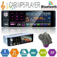 1DIN Car Radio HD Autoradio mit Fernbedienung MP5 Player Bluetooth FM AUX USB/TF