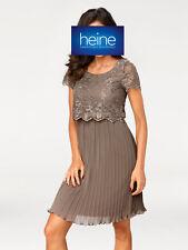 ASHLEY BROOKE by Heine Spitzenkleid mit Plissee-Falten. NEU!!! KP 89,90 �'�