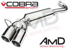 Cobra Sport BMW 318d & 320d Hinter- Schalldämpfer Doppel Ausgang Auspuff E90