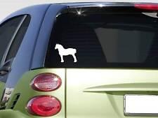 """Draft horse 6"""" sticker *F275* decal draft horse percheron belgian friesian mule"""