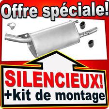 Silencieux Arriere OPEL CORSA B 1.0 12V 11.1996-09.2000 échappement KLE
