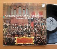 Philips 6833 034 Concertgebouworkest Amsterdam Bernard Haitink Gatefold NM/EX