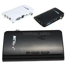 LCD TV Box Digital Computer to PC VGA AV S-Video Analog Tuner CRT Monitor C1H0