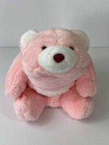 """Vintage 1980 Gund Pink Snuffles Plush Bear 10"""""""