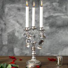 Vintage Candelabra Centerpiece Candle Holder 3 Light Home Wedding Decor Accent