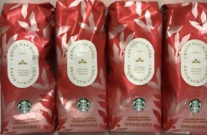 Starbucks Christmas Blend Dark Roast Whole Bean Coffee 1lbx4 Exp4/1/21