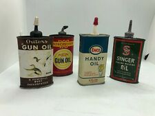 Vintage Lot of Oil Winchester Enco Singer Outers
