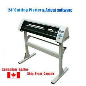 24'' Redsail RS720C Vinyl Sticker Cutter Cutting Plotter W Stand & Artcut2009