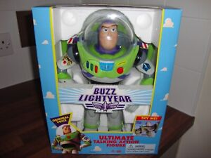 1995 ORIGINAL TOY STORY TALKING BUZZ LIGHTYEAR FIGURE NEVER OPENED  THINKWAY
