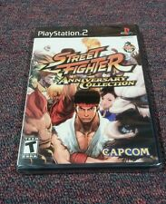 Street Fighter Anniversary Collection (Sony PlayStation 2, 2004) Brand New
