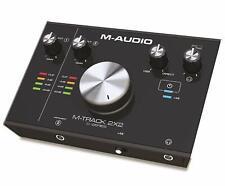 M-audio M-track 2x2 Interfaccia Audio USB a 2 Canali con Risoluzione 24bit/192kh