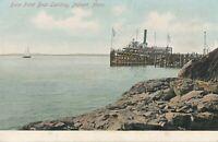 NAHANT MA – Bass Point Boat Landing - udb (pre 1908)