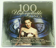 (NEW) 100 Unforgettable Songs, 4 CD Box Set: Garland, Como, Sinatra, Astaire...