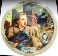 1448/ BILDPLATTE JOAN EDWARDS-What am I gonna do -Vogue 782-picture disc-78rpm