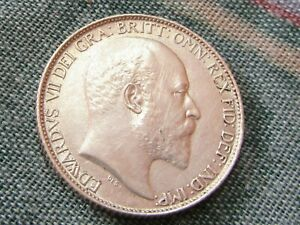 Edward  VII 1908 Sixpence Excellent Top Grade.