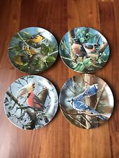 Knowles Collector Plates Kevin Daniel~Baltimore Oriole-Robin-Cardinal & Blue Jay