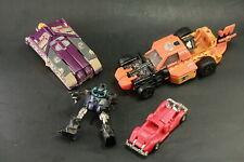 4 Vintage Transfomer Toys
