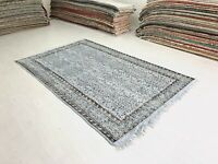Overdyed Turkish Rug, Vintage Rug Gray Vintage Rug,Wool Rug,Distressed Rug