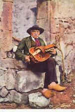 PUY-DE-DÔME musicien vieille à roue