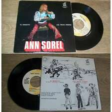 ANN SOREL - El Bandito Rare French PS 7' Pop As De Trefle