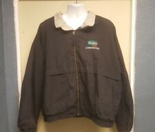 Scotts Lawn Service Cintas Men's Black Jacket 3XL-R
