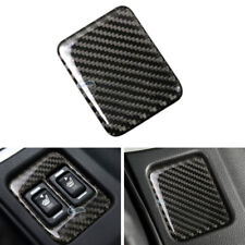 Real Carbon Fiber Seat Heating Button Panel Cover For Toyota 86 Subaru BRZ 13-17