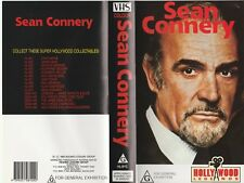 SEAN CONNERY 007 HOLLYWOOD LEGEND  AS NEW RARE  PAL VHS VIDEO