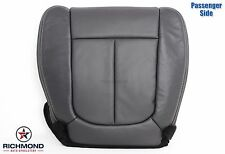 2012 Ford F150 Lariat FX2 FX4 XLT-Passenger Side Bottom Leather Seat Cover Black