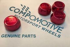 4 Genuino compomotive Rojo Centro De Rueda Caps Anodizado Mo TH2 Cxr Cosworth Ford