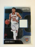 F63665  2019-20 Panini Prizm Sensational Swatches #97 Kevin Knox II KNICKS