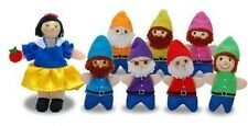 SNOW WHITE FINGER PUPPET SET by The Original Toy Company, NEW