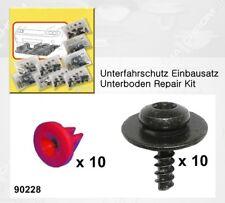 Unterfahrschutz Einbausatz Unterboden Repair Kit CLIPS Ford Mondeo 😊 90228