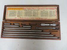 Starrett Model 832f 1 12 32001 Inside Micrometer Set On42