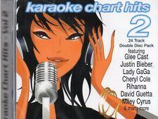 KARAOKE CHART HITS VOL 2 - CD+G - NEW -Free Post UK