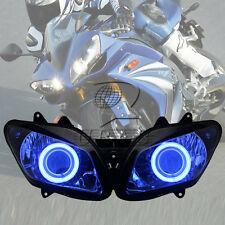 Blue Angel Eyes Assembled Projector HID Headlight For Yamaha YZF-R1 2002-2003