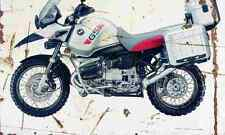 BMW R1150GS Adventure 2002 Envejecido Vintage sign A3 Grande Retro