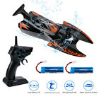 JJRC S6 RC Electric Boat Self Righting Racing Speed Boat Black + Remote Control