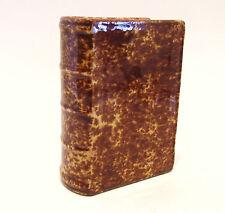 Antique Bennington Pottery Book Flask Circa 1860