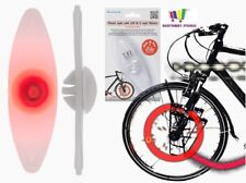 BIKE WHEEL SPOKE LIGHT BRIGHT WHEEL LED SAFE CYCLING WHEELY GLOW KIDS ADULT GIFT